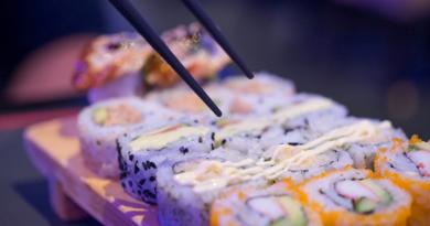 sushi e saúde
